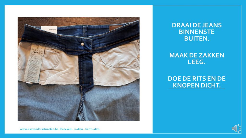 wasprocedure jeansbroek