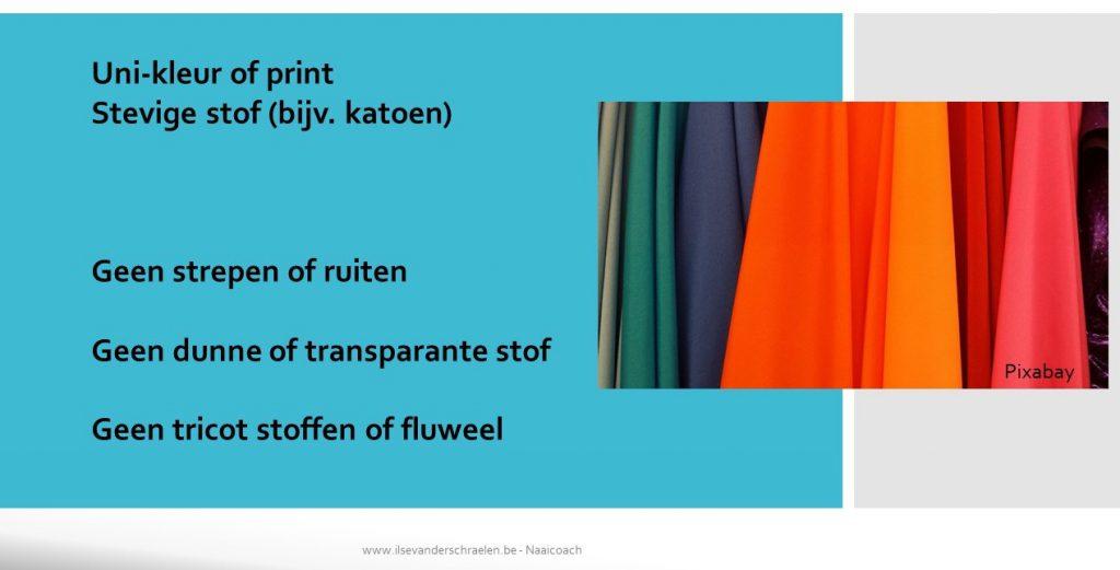 stoffen en prints naaiwerken