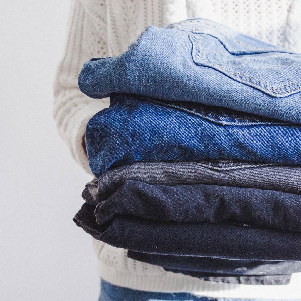 jeans verkleuren