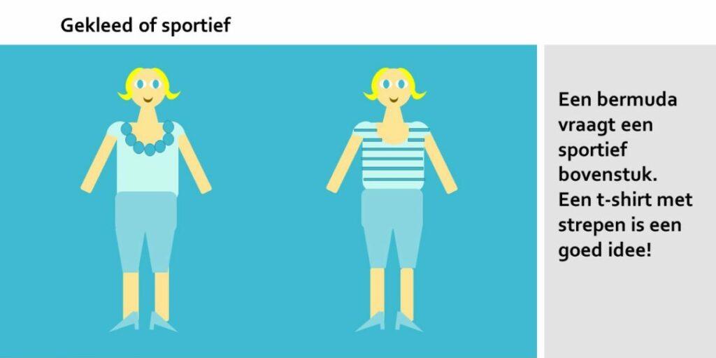 Een geklede of sportieve bermuda?